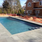 hampton bays gunite pool install