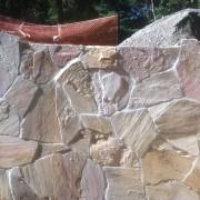 retaining wall stone veneer southampton