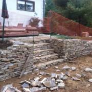 southampton, east hampton stone steps