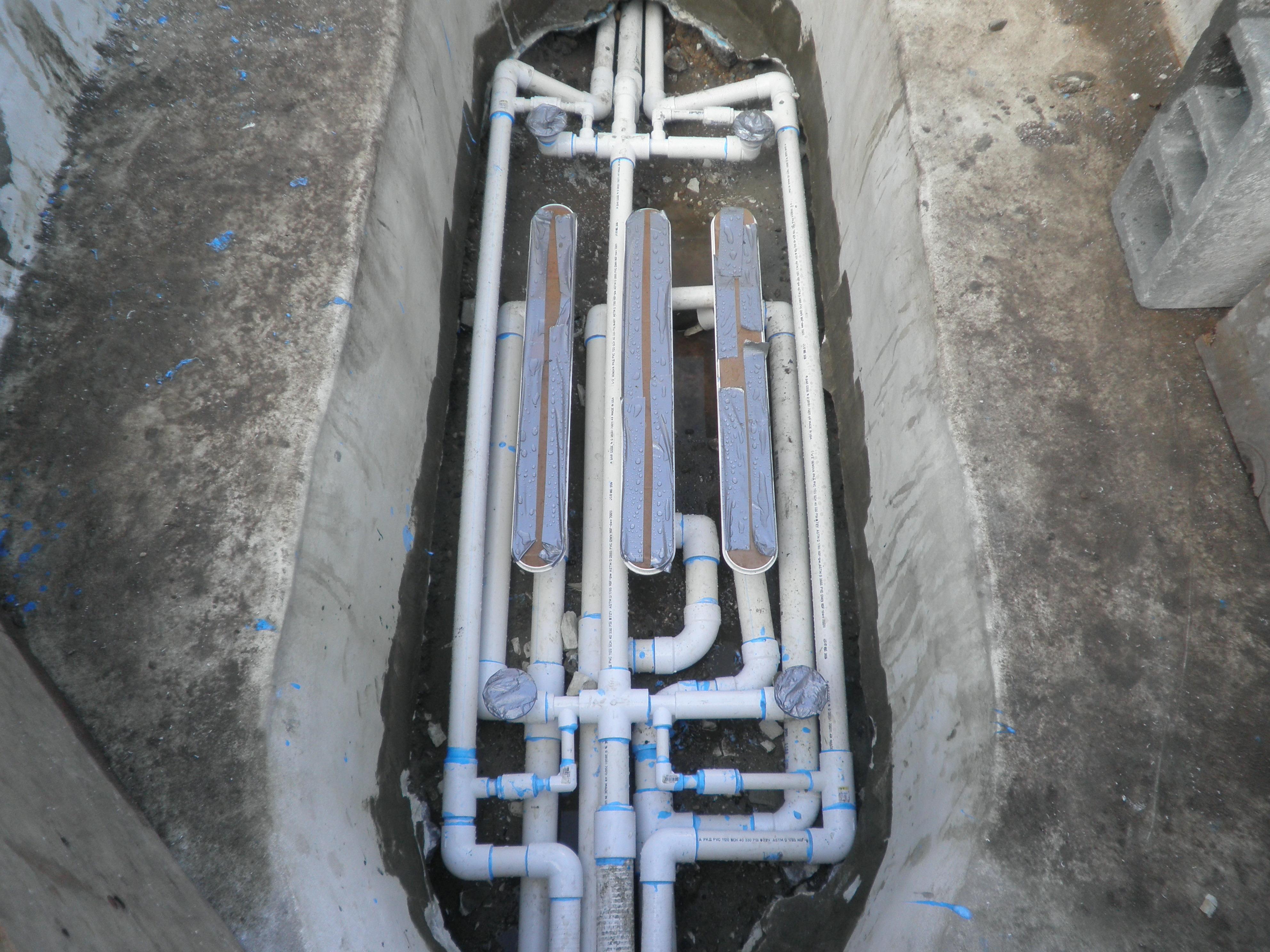 Pool Drain Plumbing : Gunite pool spa renovations patricks pools long