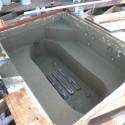 Patricks pools gunite spa renovation bond coated