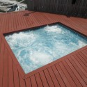 Patricks Pools new spa renoavtion in action 22 new hydrotherapy jets all shooting a pressurized swirling mixture of air and water for an ultimate massage