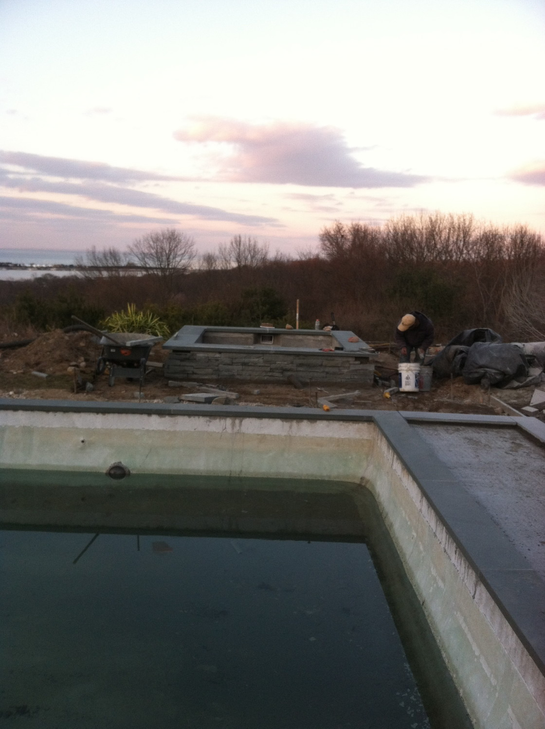 Patio Pool Renovation Amp Spa Addition In Port Jeff Harbor