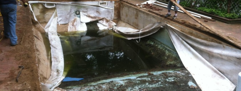 East Hampton pool rebuild