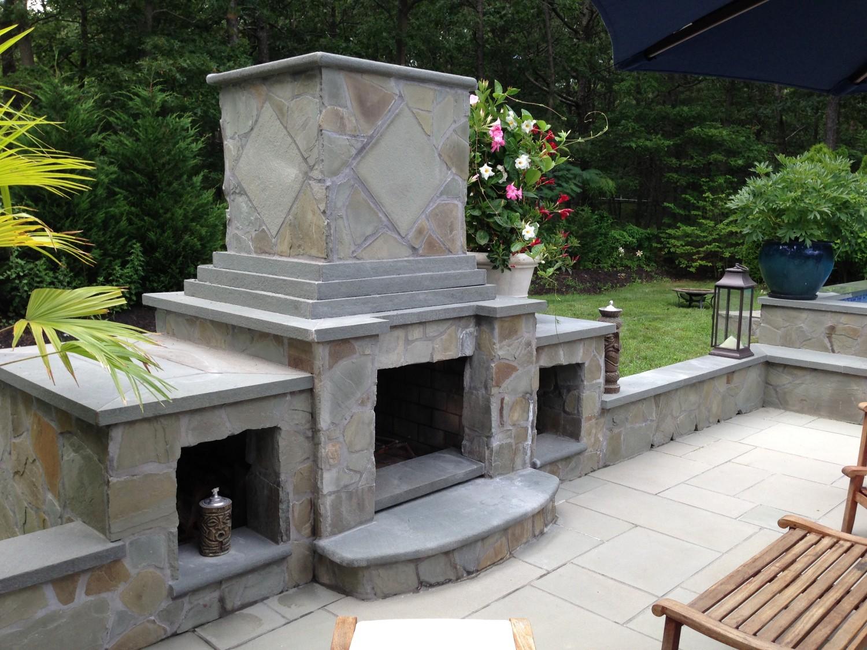 Stonework & Masonry – Patricks Pools | Long Island, NY pool ...