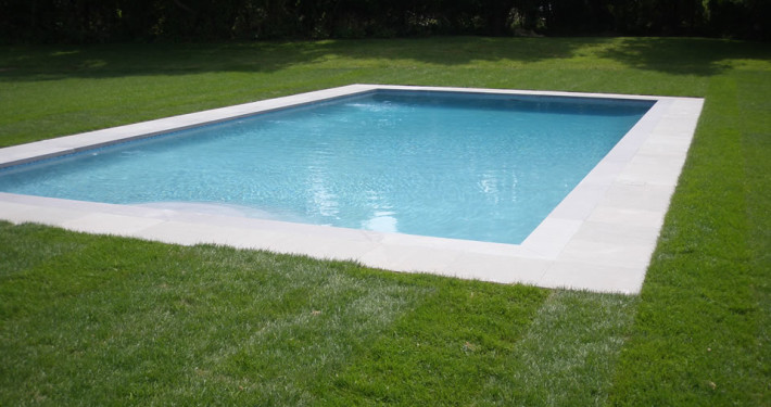 New Gunite pool installation