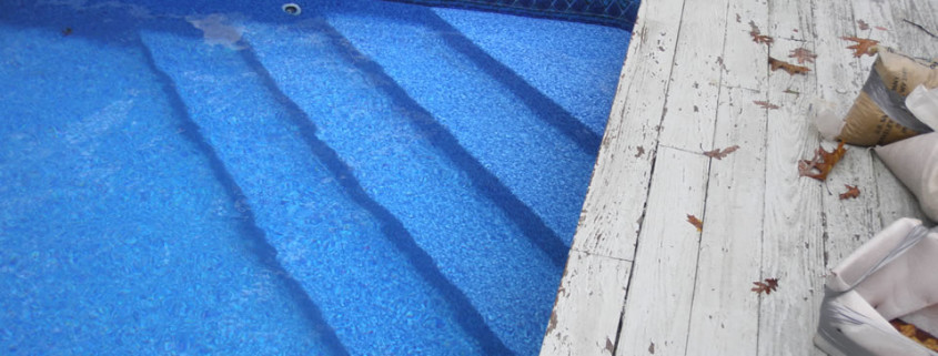 vinyl liner pool renovation