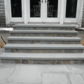 Suffolk county staircase built with stone