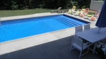 Bluestone Patio and pool renovation