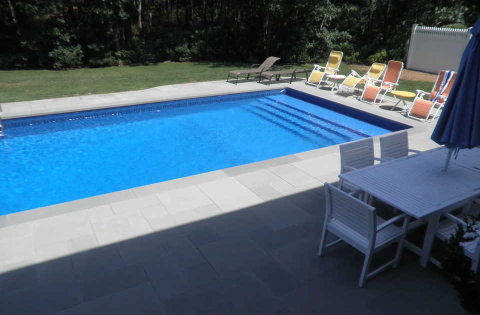 Bluestone Patio Amp Pool Renovation In East Quogue