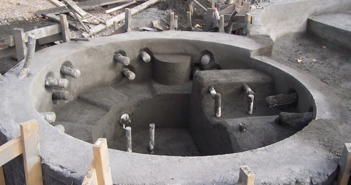 Gunite hot tub East Hampton