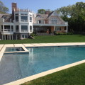 Sagaponack gunite pool installation