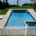 gunite pool spa and patio project patricks pools installation