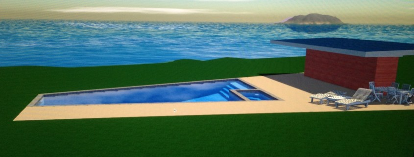 3d pool project designing