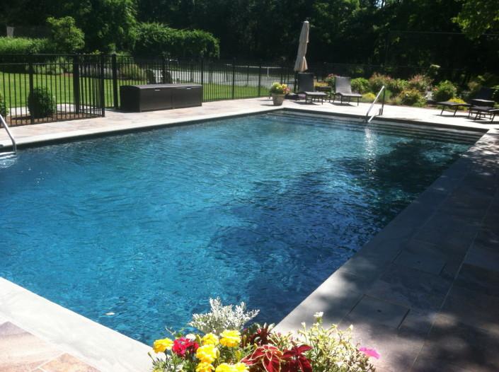 westhampton gunite pool construction