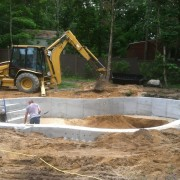 Pool installation and excavation suffolk county