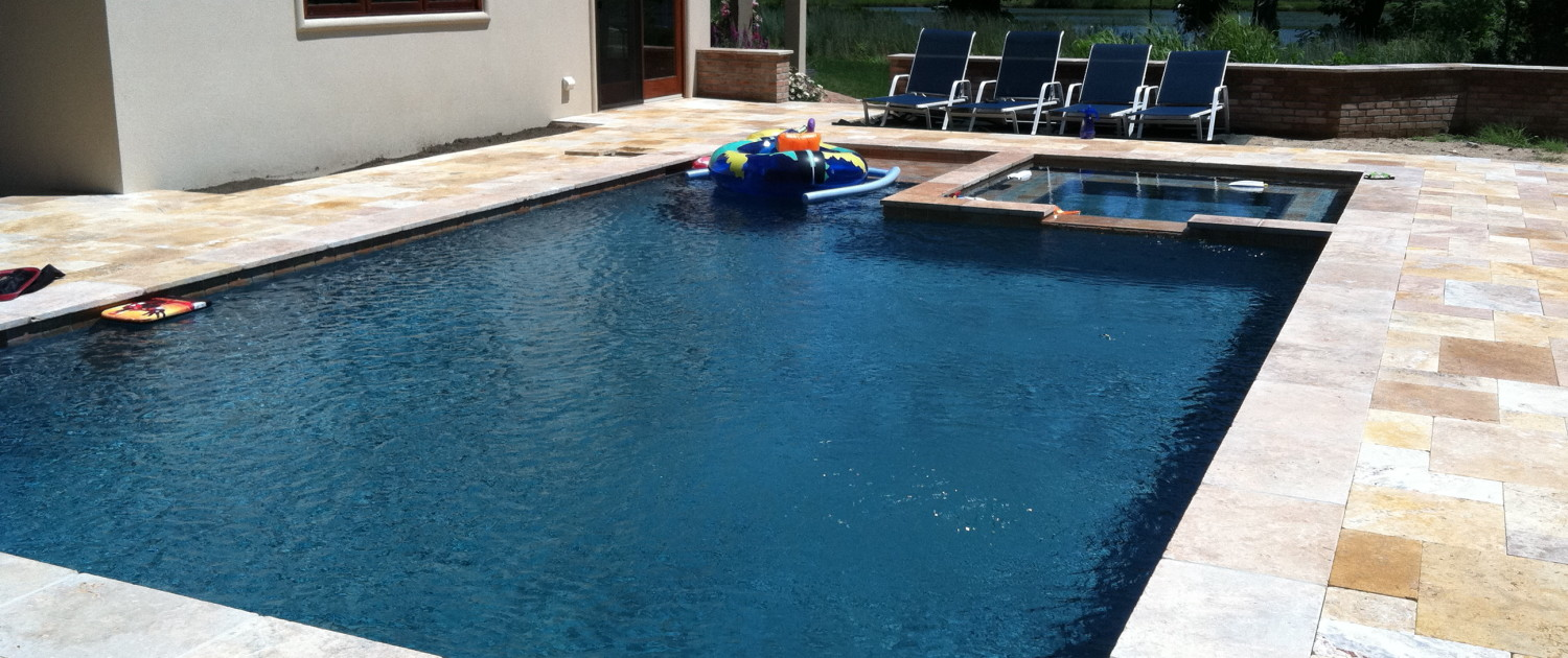 Gunite pool and spa suffolk county