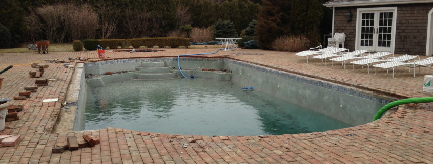 Southampton gunite pool repair