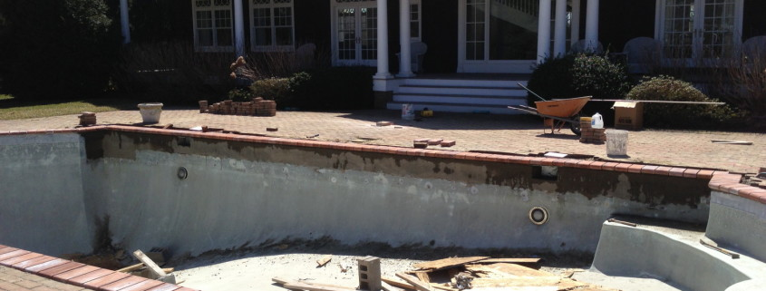 gunite pool repair & remodel