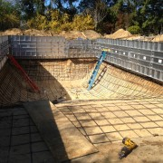 Southampton Town gunite pool construction