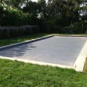 pool safety cover installation by Patricks Pools