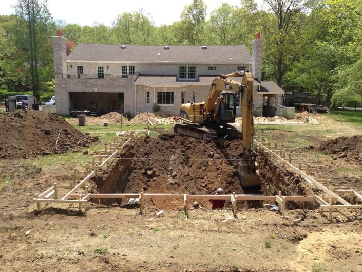 dix hills gunite pool builder