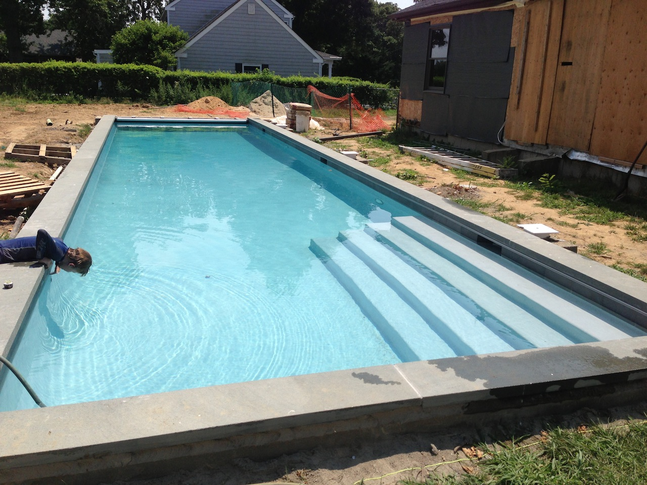 Lap Pool Installation Patricks Pools