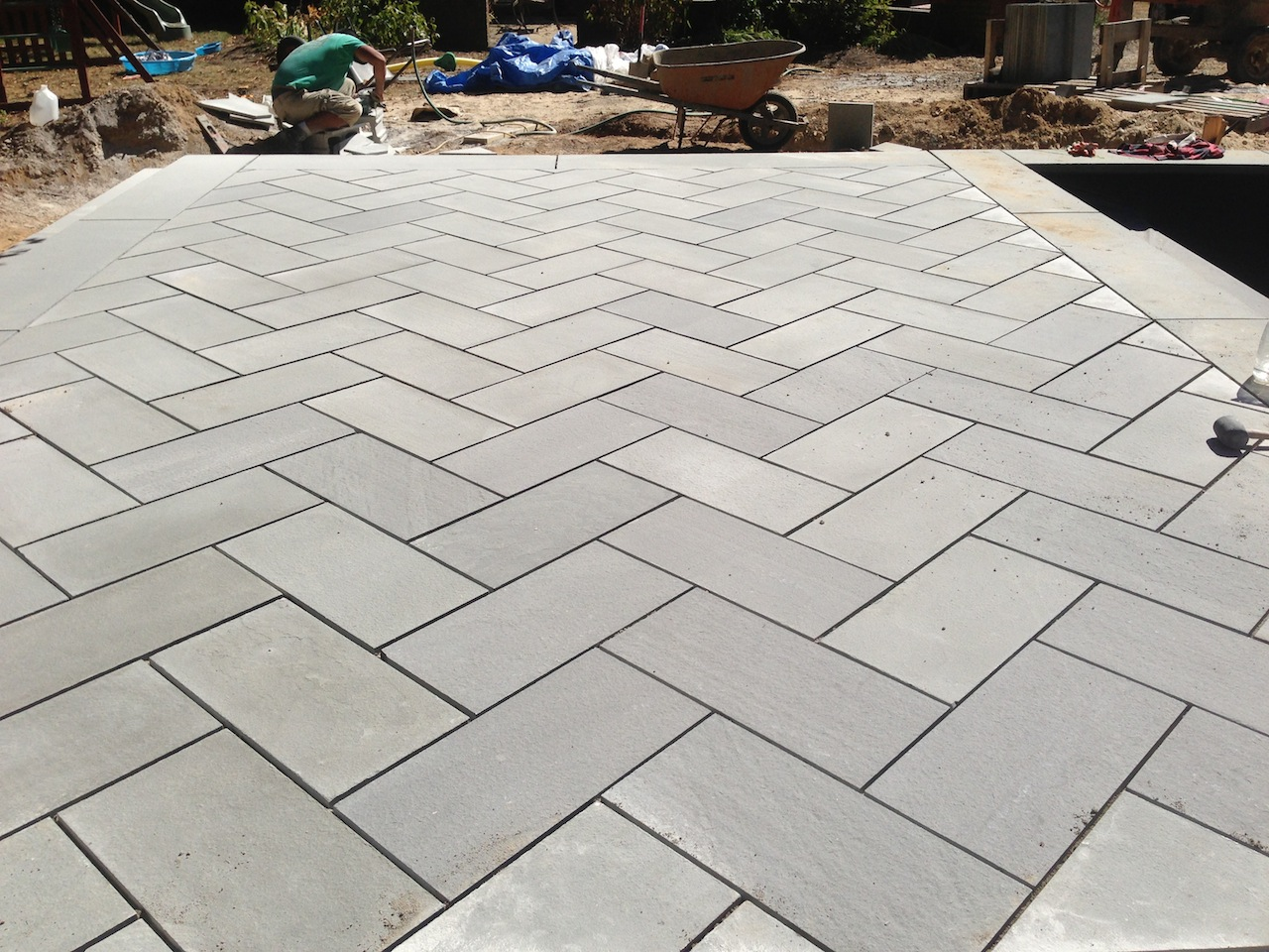 Wonderful Bluestone Patio Installation Patricks Pools