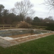 gunite vinyl pool demo