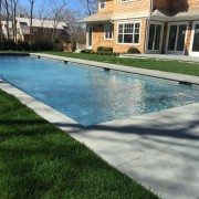 Saltwater Gunite Pool Installation In Suffolk County Patricks Pools Long Island Ny Pool