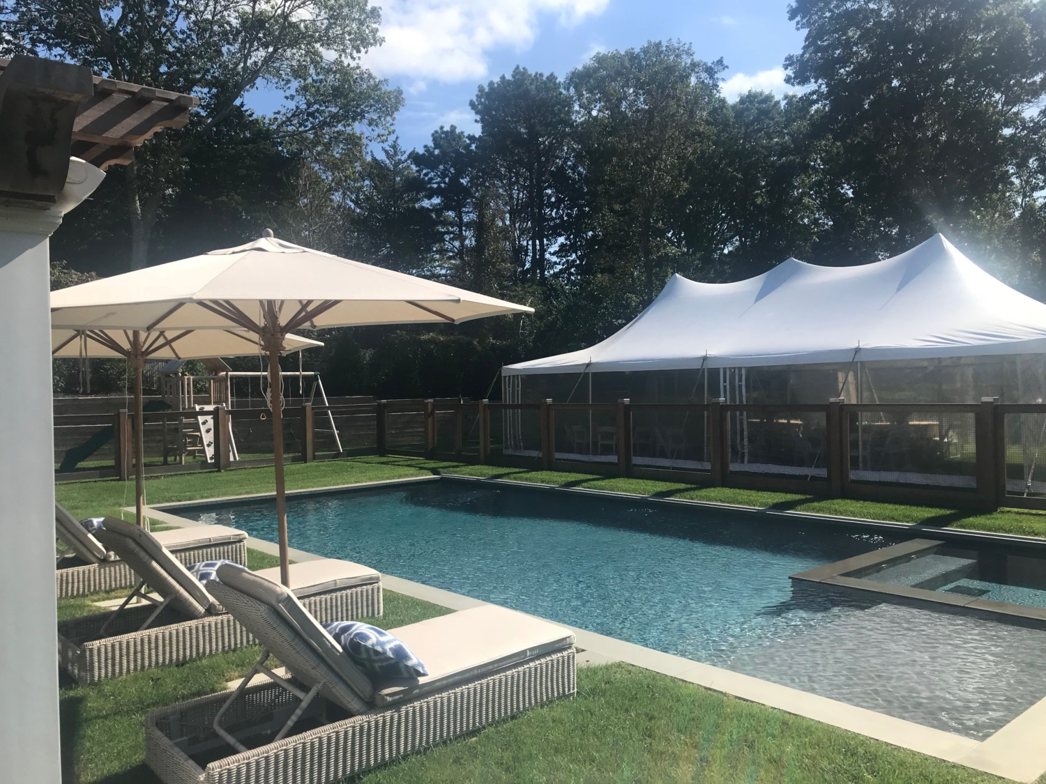 Hamptons Gunite Pool Amp Spa Patricks Pools Long Island